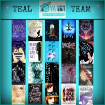FALL 2015 YA SCAVENGER HUNT — TEAM TEAL!