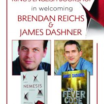 Highlights from the Brendan Reichs and James Dashner NEMESIS event in Provo, UT