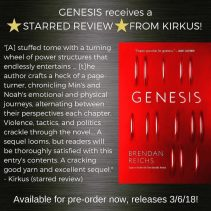 GENESIS RECEIVES A STARRED REVIEW FROM KIRKUS!!!